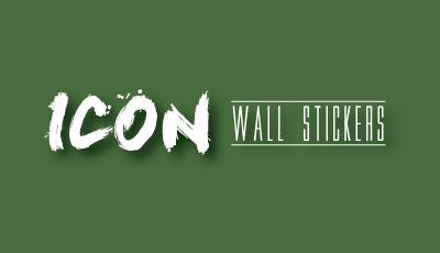 Icon Wall Stickers Logo