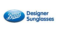 Boots Designer Sunglasses Logo