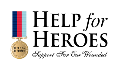 Help For Heroes Logo - Discount Code