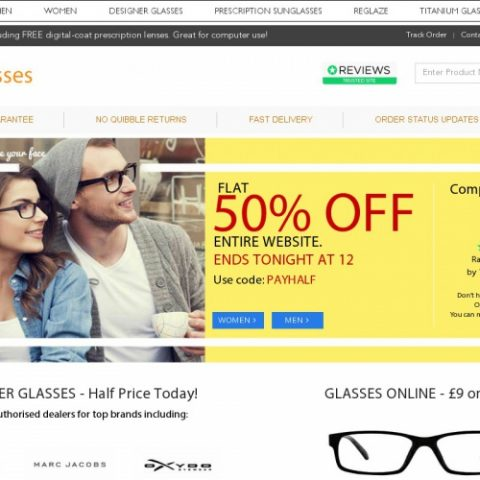 More Info: 39DollarGlasses is at your disposal with an exciting range of prescription glasses, sunglasses, frames, contact lenses & more! If you want to spend less on your next order, then join to their mailing list and you will receive by email a 15% discount code!
