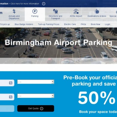 Save 72% with Cheap Birmingham Airport Car Parking Promo Codes