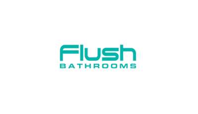 Flush Bathrooms Logo
