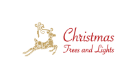 Christmas Trees & Lights Logo